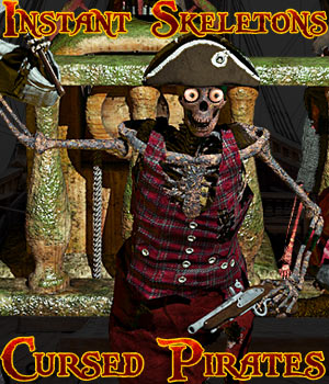 Instant Skeletons: Cursed Pirates