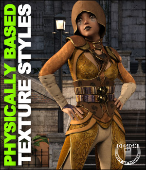 OOT PBR Texture Styles for Spasimira Outfit 3D Figure Assets outoftouch