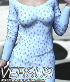VERSUS - LOL for Genesis 3 Female(s) 3D Figure Assets Anagord