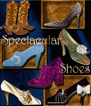 Harvest Moons Spectacular Shoes  2D Graphics Merchant Resources MOONWOLFII
