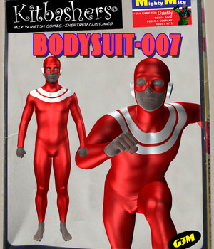 Kitbashers_Bodysuit-007 -- By MightyMite for G3M 3D Figure Assets MightyMite
