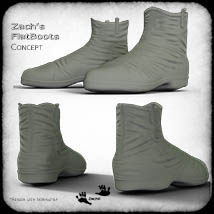 Zach's FlatBoots for GENESIS 3 Females image 1