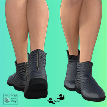 Zach's FlatBoots for GENESIS 3 Females image 2