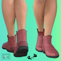 Zach's FlatBoots for GENESIS 3 Females image 4