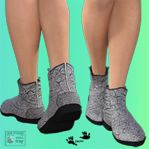 Zach's FlatBoots for GENESIS 3 Females image 5