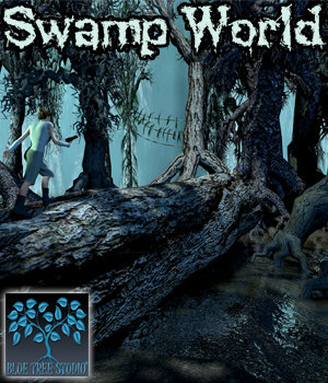 Swamp World 3D Models BlueTreeStudio
