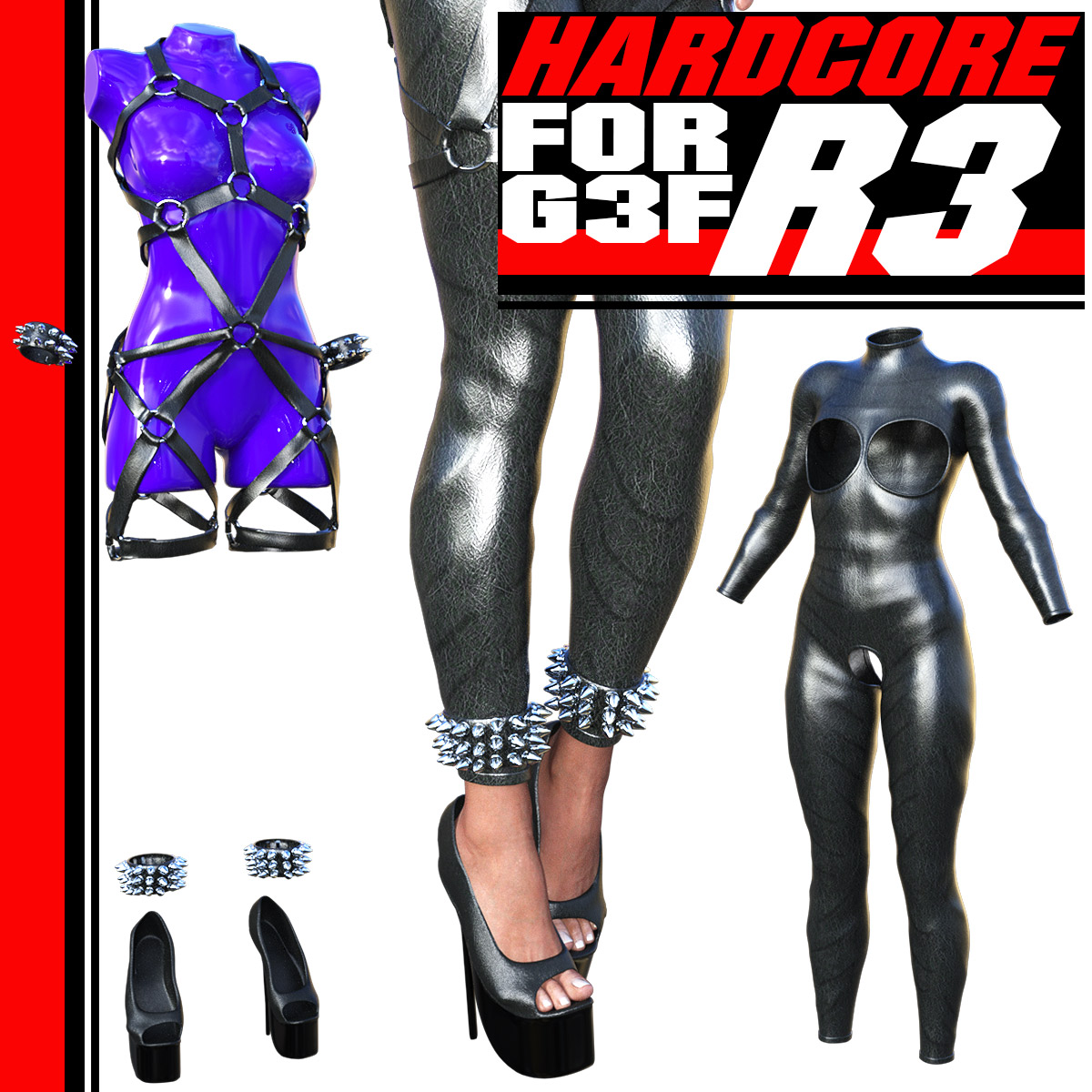 HARDCORE-R3 for G3 females