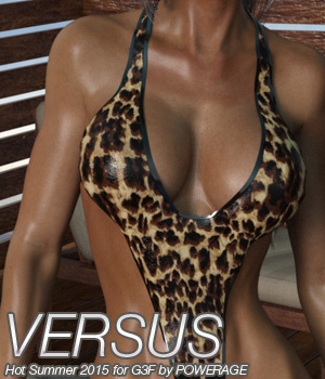 VERSUS - Hot Summer 2015 for G3 females V7 3D Figure Assets Anagord