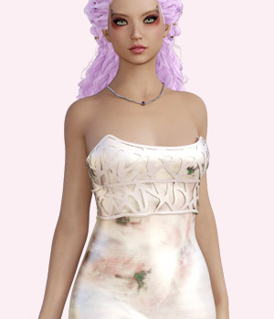 Romantica - Genesis 3 Female/V7 dress 3D Figure Assets EllerslieArt