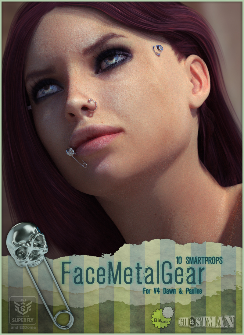 FaceMetalGear by Biscuits