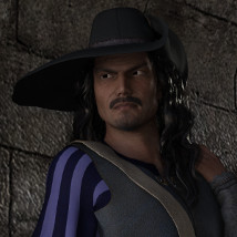 Rogue Outfit for Genesis 3 Male image 2