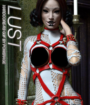 LUST - HARDCORE-R3 for G3 females 3D Figure Assets Anagord