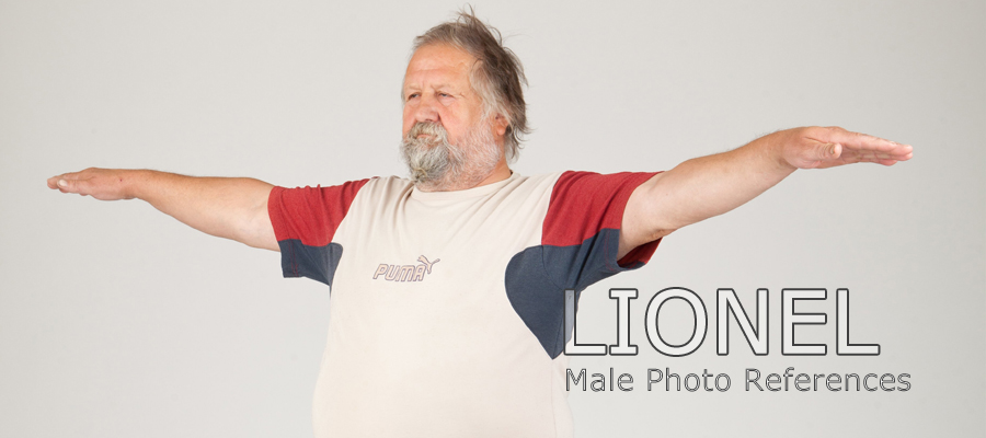 Lionel, Male Full Figure Photo References