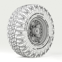 Off Road wheel and tire 3 - Extended License image 6