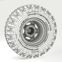 Off Road wheel and tire 3 - Extended License image 7