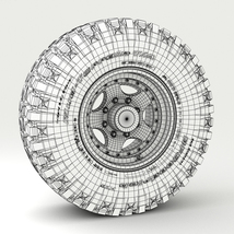 Off Road wheel and tire 3 - Extended License image 9