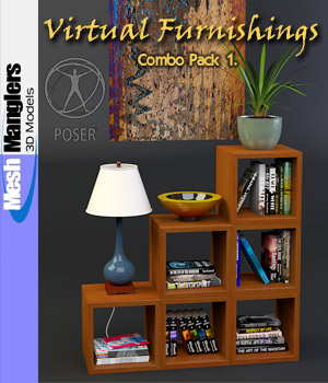 Virtual Furnishings - Combo Pack 1 3D Models keppel