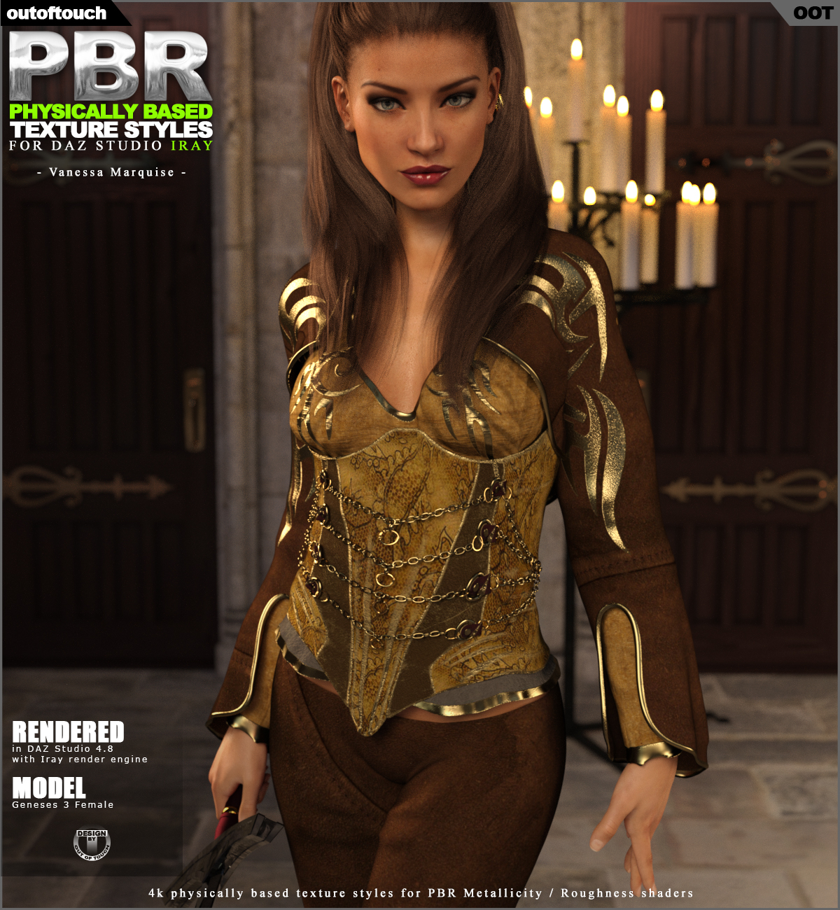 OOT PBR Texture Styles for Vanessa Marquise