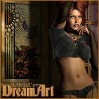 DMRs DreamArt - Extended License 3D Figure Assets 3D Models Extended Licenses DM