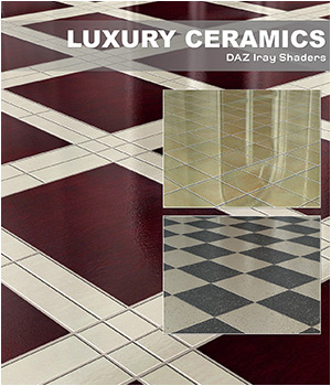 DAZ Iray - Luxury Ceramics 3D Figure Assets Merchant Resources Atenais