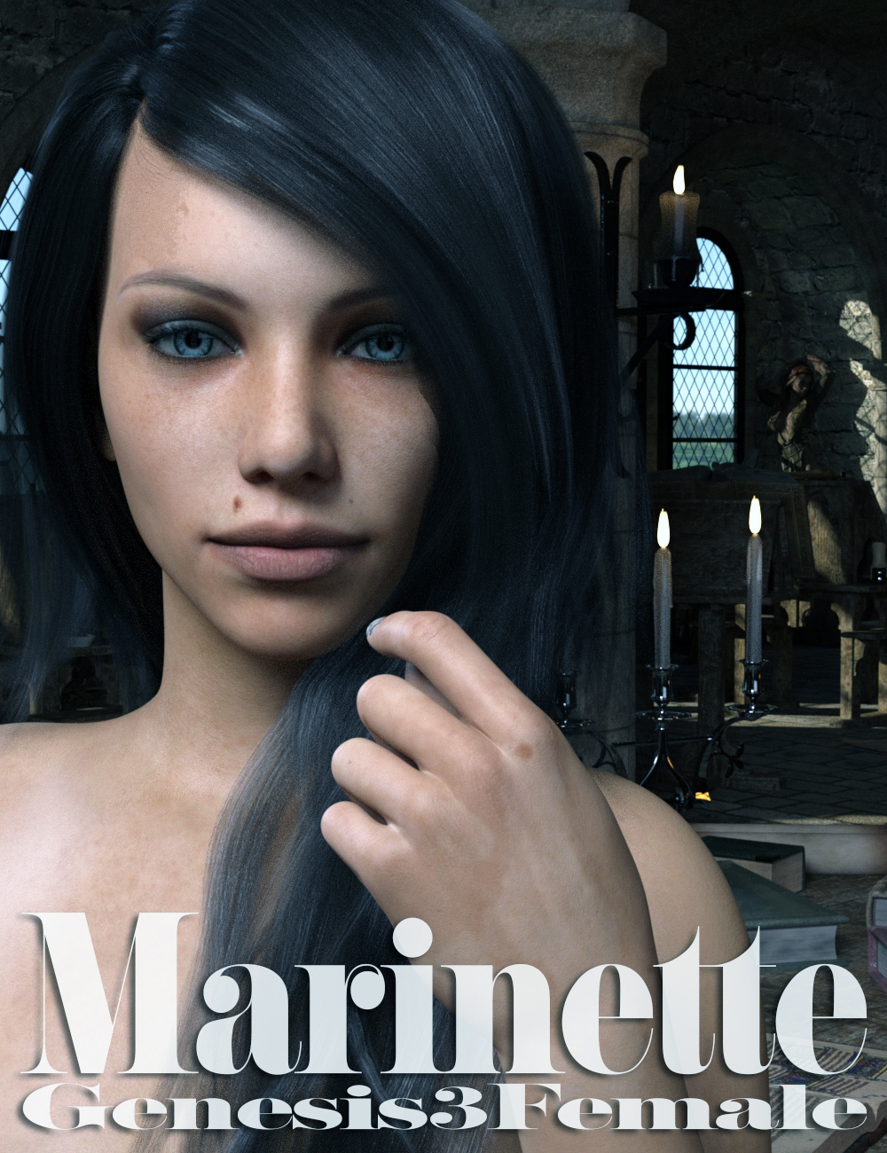 Marinette HD - Genesis 3 Female by KobaAlexander