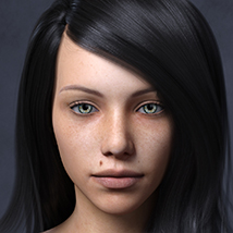 Marinette HD - Genesis 3 Female image 1