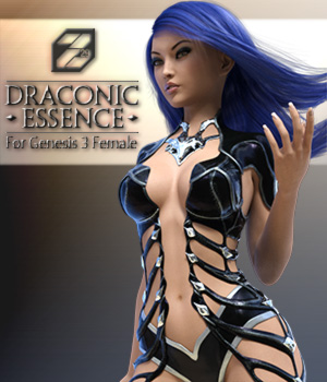 Draconic Essence for Genesis 3 Female 3D Figure Assets zakiel29