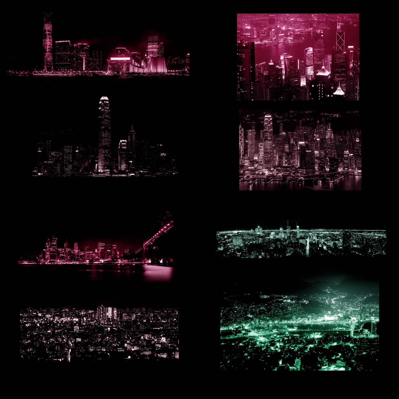 City Night Lights PS Brushes by biala