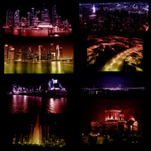 City Night Lights PS Brushes image 5