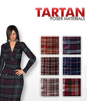 Tartan :: Poser Materials 2D Graphics Merchant Resources Cyrax3D