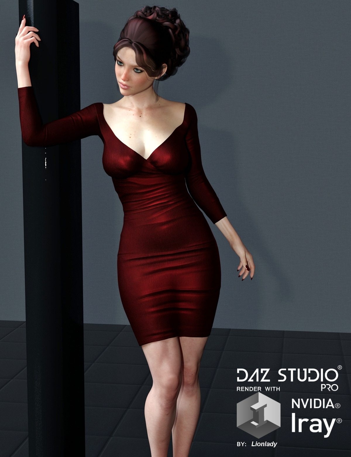 Hazard Dress for G3F