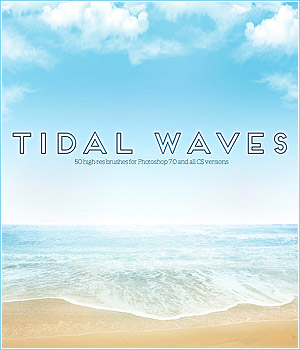 FS Tidal Waves Brushes 2D Graphics FrozenStar