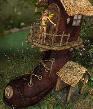 DMs BootHouse - Extended License 3D Figure Assets 3D Models Extended Licenses DM