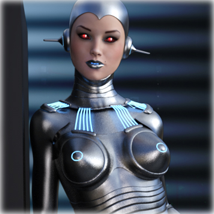 Pin-Up Gynoid Phase7 for G3F or V7 image 4
