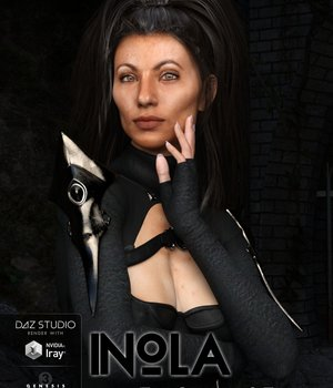 Inola for Genesis 3 Female 3D Figure Assets brahann