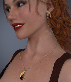 Sylvi Jewels for Dawn Poser 3D Figure Assets jancory