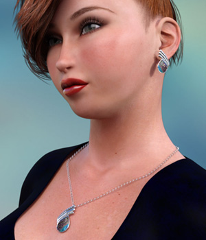 Sylvi Jewels for Dawn - DAZ Studio 3D Figure Assets jancory