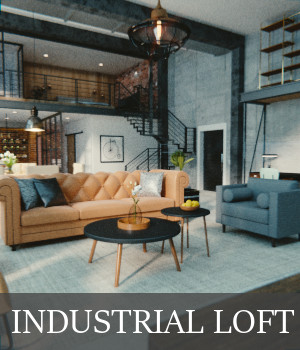 Industrial Loft 3D Models TruForm