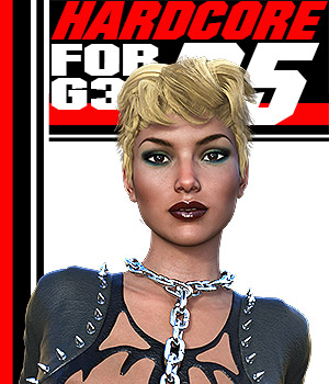 HARDCORE-R5 for G3 females 3D Figure Assets powerage