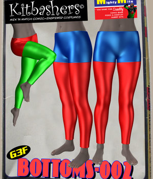 Kitbashers_Bottoms-002 -- By MightyMite for G3F 3D Figure Assets MightyMite