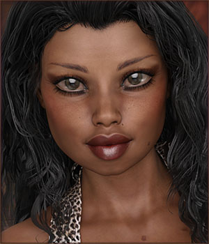 TDT-Olayinka for Monique 7 3D Figure Assets Deva3D