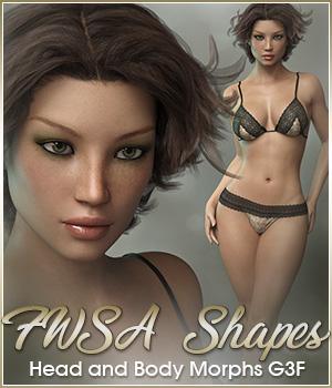 FWSA Shapes for Genesis 3 Female by Sabby