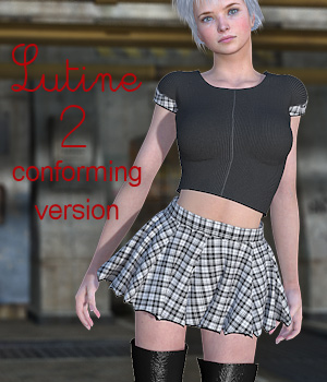 Lutine2 Conforming Version 3D Figure Assets Tipol