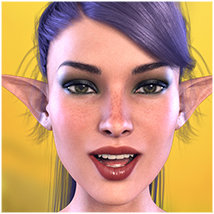 Z Fairy Mood - Morph Dial and One-Click Expressions for the Genesis 3 Females image 2