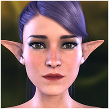 Z Fairy Mood - Morph Dial and One-Click Expressions for the Genesis 3 Females image 3