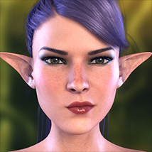 Z Fairy Mood - Morph Dial and One-Click Expressions for the Genesis 3 Females image 5