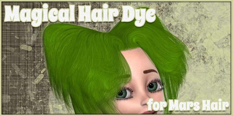 Magical Hair Dye for Mars Hair
