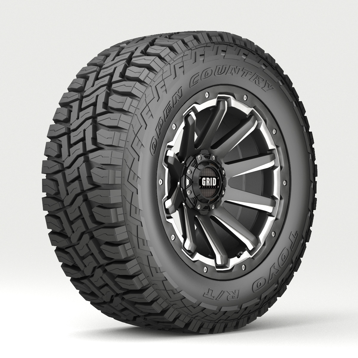Off Road wheel and tire 4 - Extended License