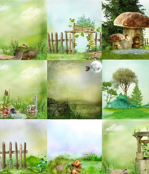 Fairyfandasy_Background 2D Graphics hexchen_uta