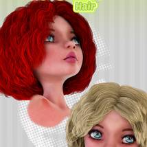 Biscuits Polka Hair for Maisie image 6